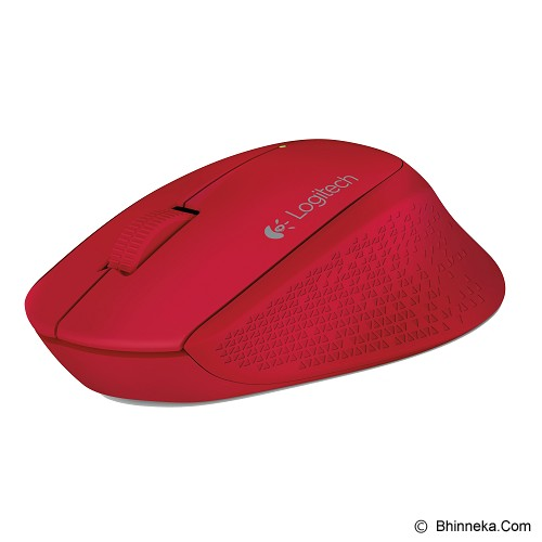 LOGITECH Wireless Mouse M280 [910-004296] - Red - Mouse Mobile